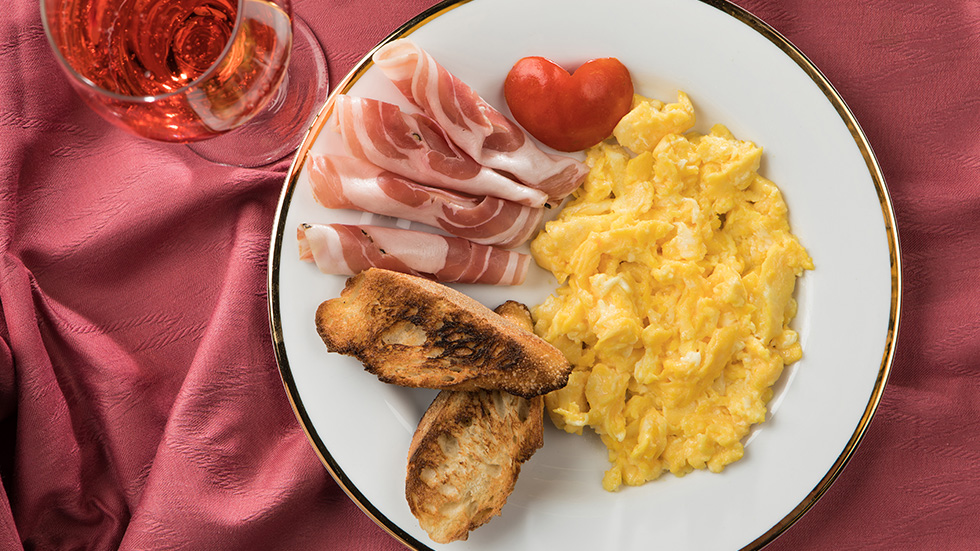 Perfect Boursin Scrambled Eggs