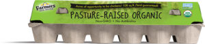 Farmers Hen House Pasture-Raised Organic Eggs carton
