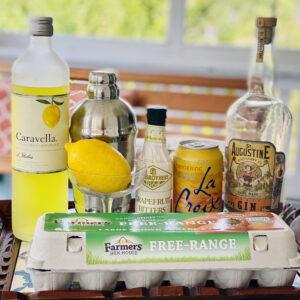 gin fizz cocktail ingredients