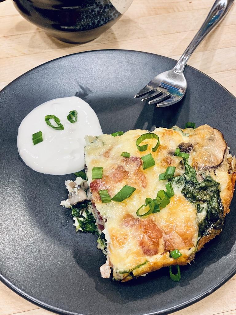 Holiday Breakfast Egg Casserole