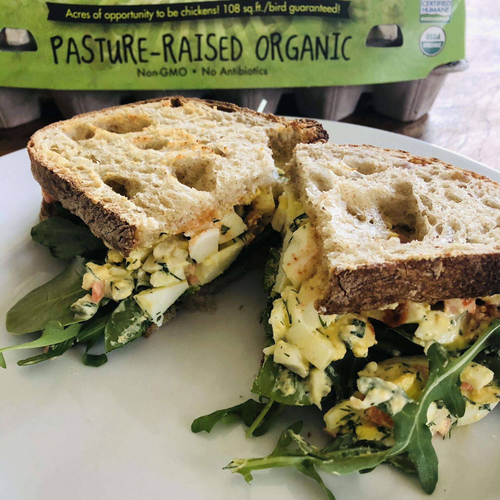 Spring Egg Salad