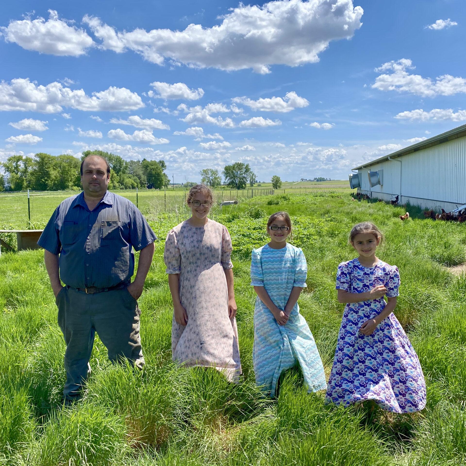 Free Range Farm family