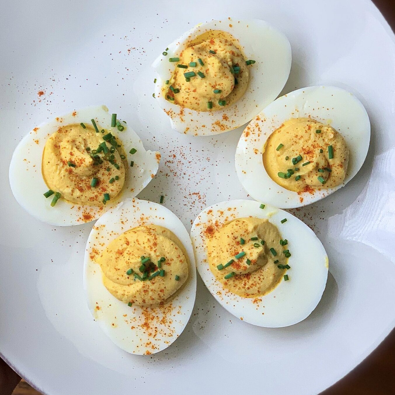 Farmers Deviled Eggs